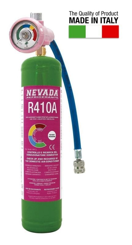 Our range of refrigerant gases and fluids - Refrigerant Boys